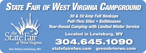 West Virginia Rv Parks Campgrounds Rv Camping In West