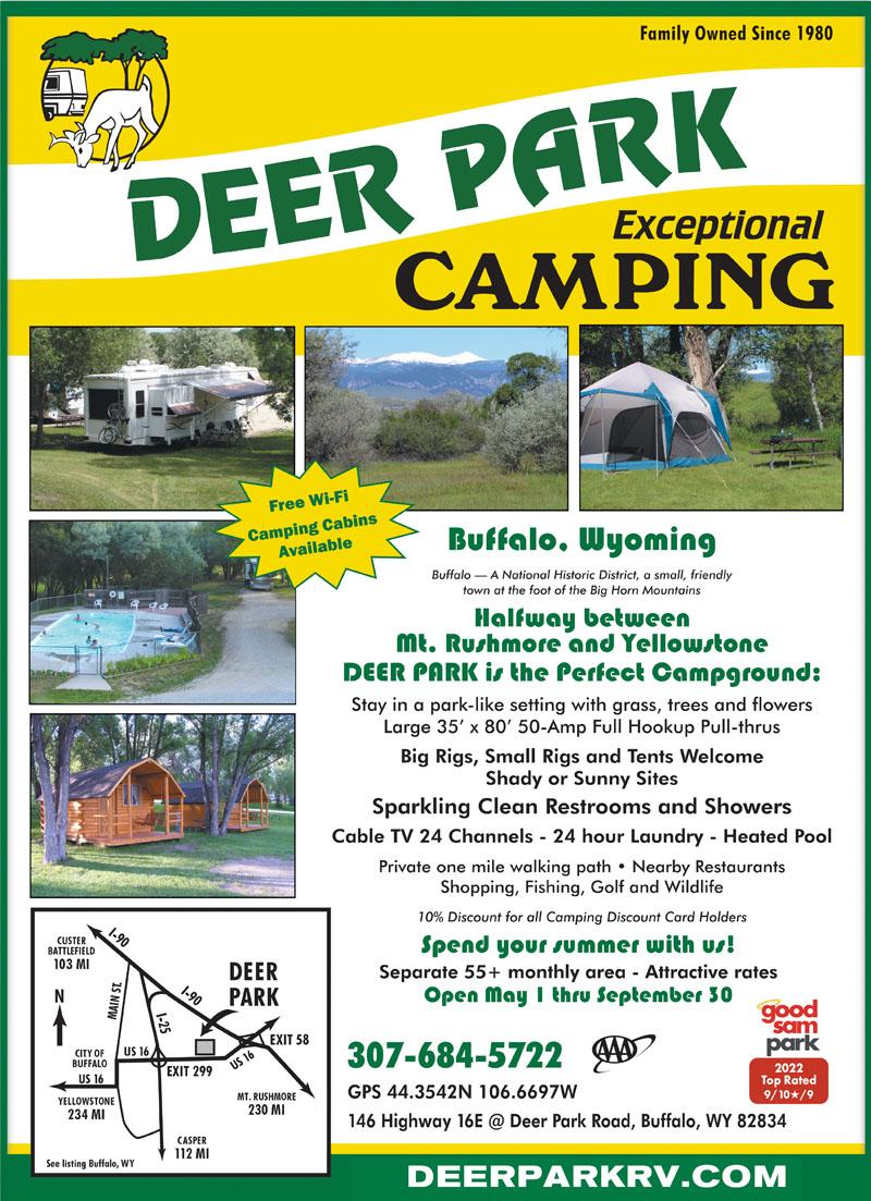 volledige hook up campings in Wyoming beste dating sites in Manilla