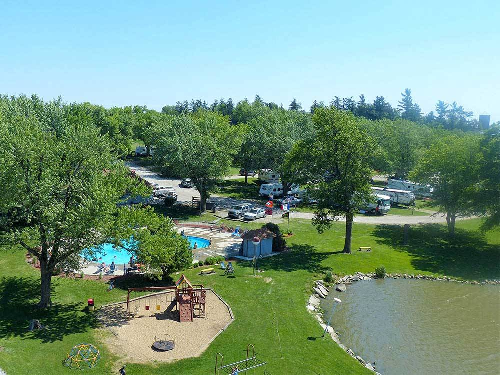 Sleepy hollow rv park campground oxford campgrounds for Nearby campgrounds with cabins