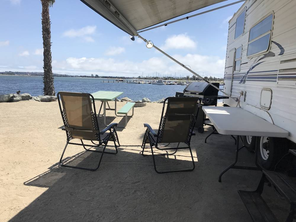 San Diego Ca Rv Camping On Beach