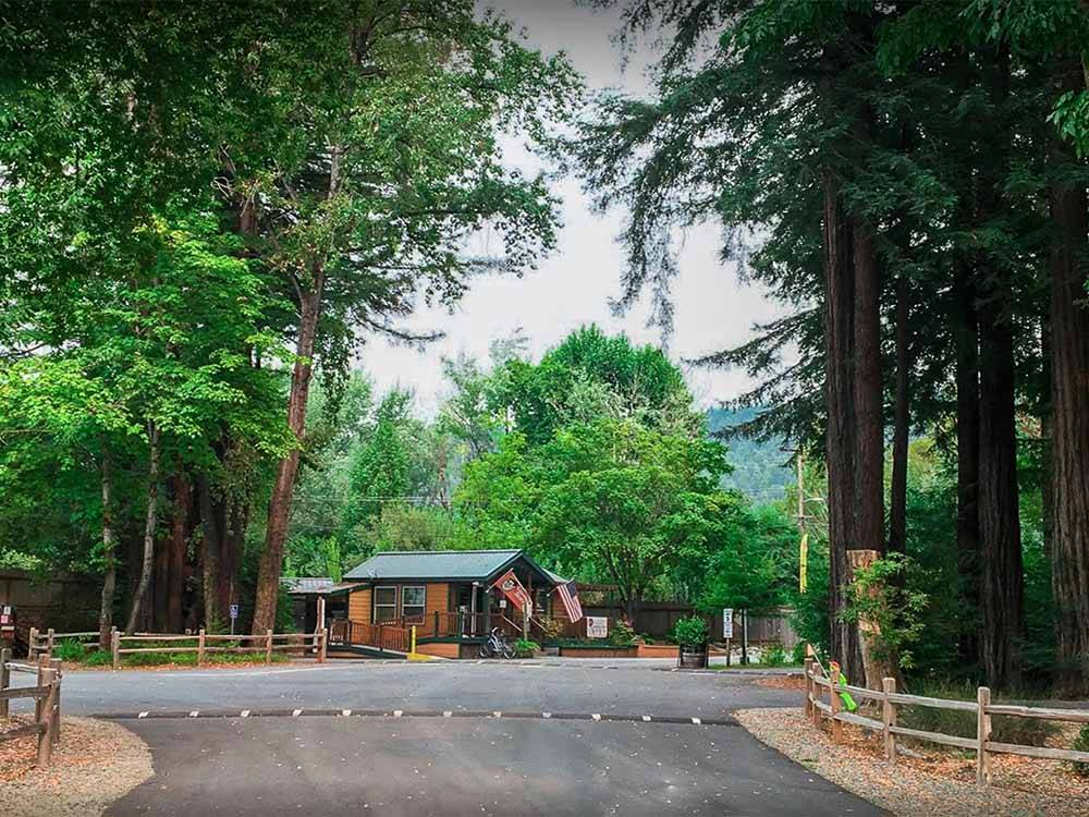 GIANT REDWOODS RV AND CAMP at MYERS FLAT CA