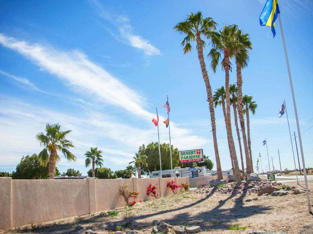 Desert Paradise Rv Resort Yuma Campgrounds Good Sam Club