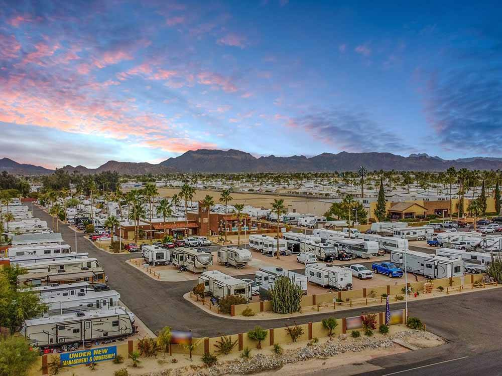 SILVER SANDS RV RESORT at MESA AZ