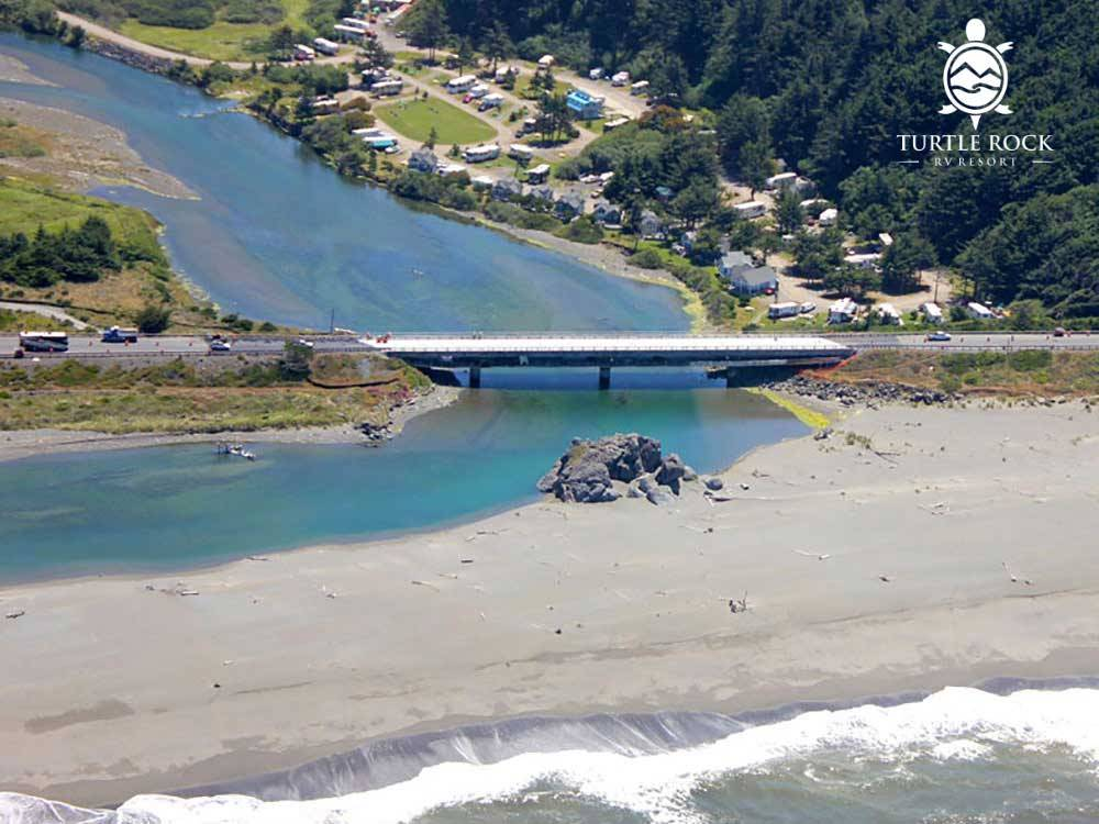TURTLE ROCK RV RESORT at GOLD BEACH OR
