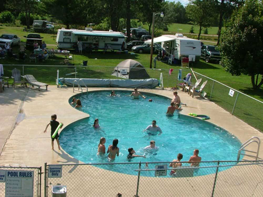 summer breeze campground rv park iron mountain campgrounds good sam club