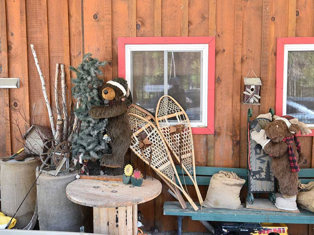 RVs parked at campground at WAWA RV RESORT  CAMPGROUND
