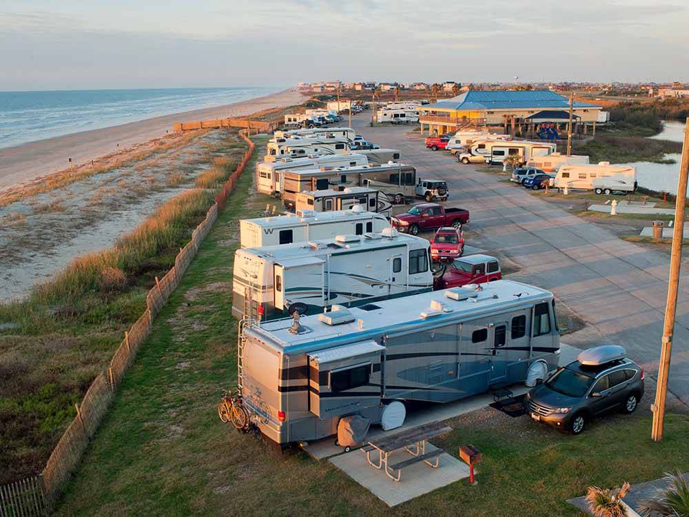 Dellanera Rv Park Galveston Tx Rv Parks And