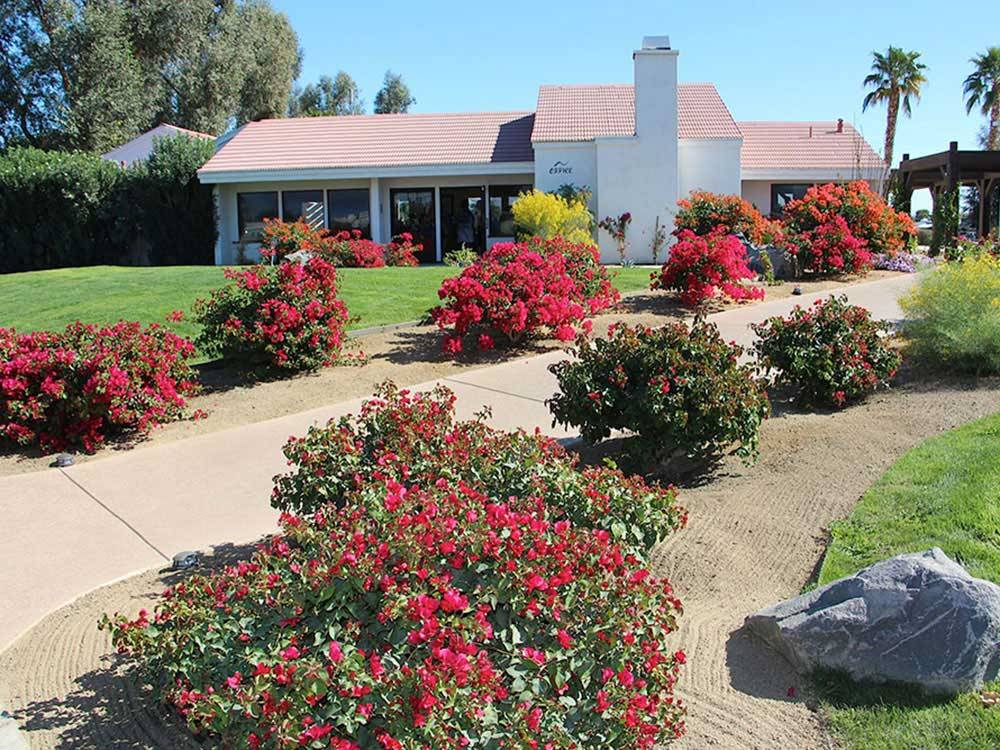Indian Waters Rv Resort Cottages Indio Campgrounds