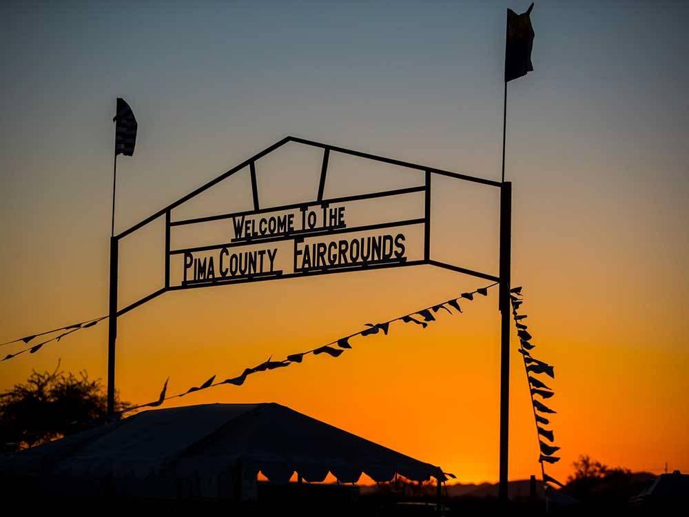 Pima County Fairgrounds Rv Park Tucson Campgrounds