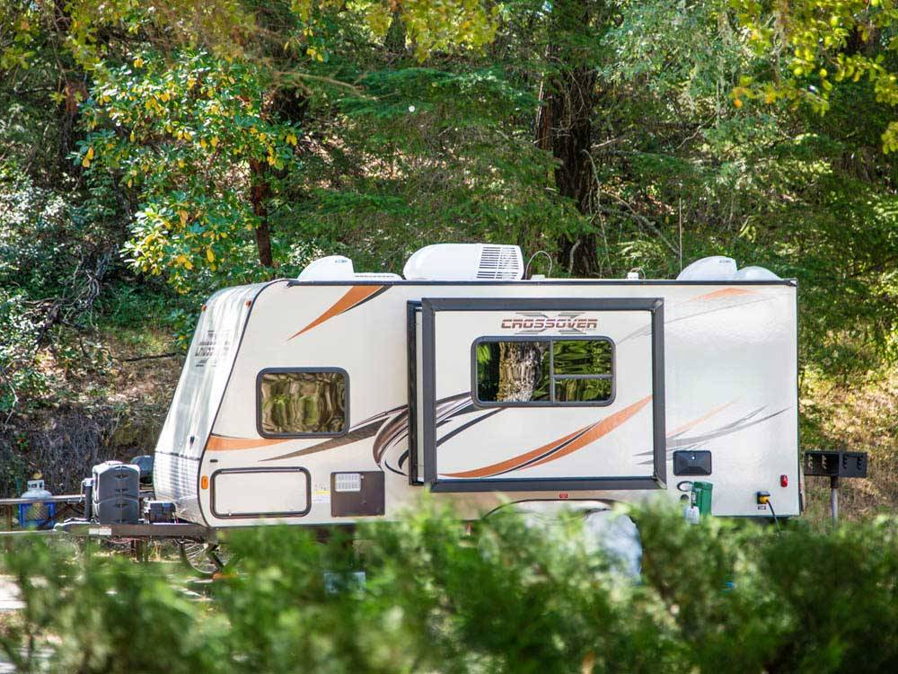 RUSSIAN RIVER RV CAMPGROUND at CLOVERDALE CA