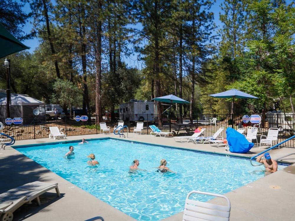 Ponderosa Rv Resort Lotus Campgrounds Good Sam Club