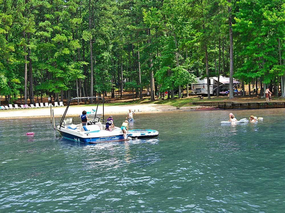 Lake Gaston Rv Amp Camping Resort Littleton Nc Rv Parks