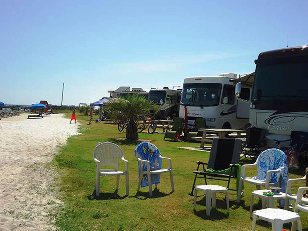 Pensacola Beach Rv Resort Pensacola Campgrounds Good Sam Club