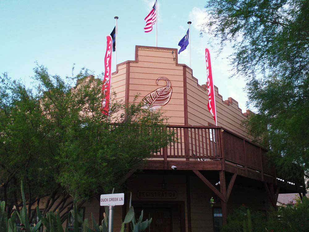 DUCK CREEK RV PARK at LAS VEGAS NV