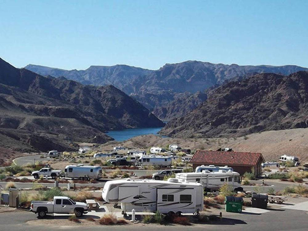 Canyon View at WILLOW BEACH MARINA  CAMPGROUND