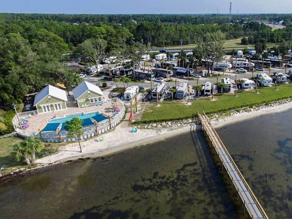 Santa Rosa Waterfront Rv Resort Navarre Campgrounds