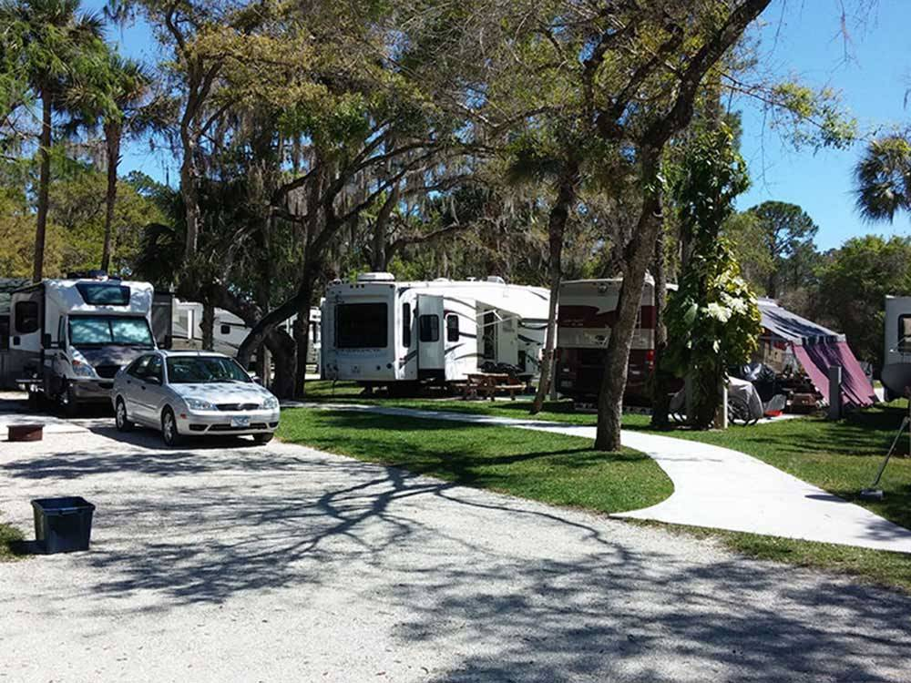 Seminole Campground N Fort Myers Fl Rv Parks And