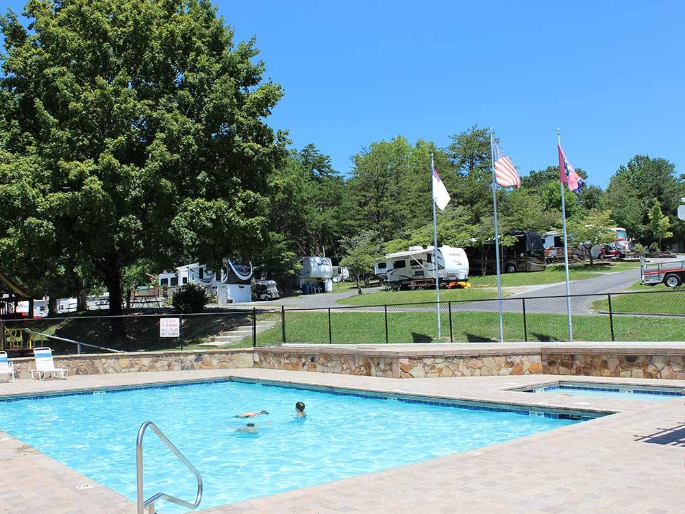 Mill Creek Resort Pigeon Forge Campgrounds Good Sam Club