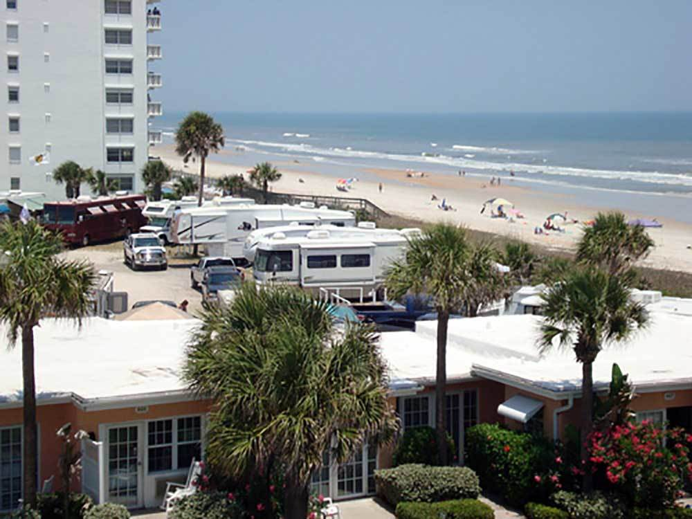 CORAL SANDS OCEANFRONT RV RESORT At ORMOND BEACH FL