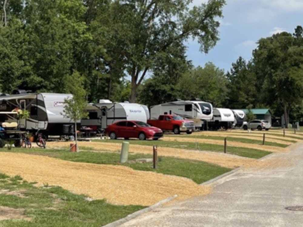 Camp Lake Jasper Rv Resort Hardeeville Campgrounds