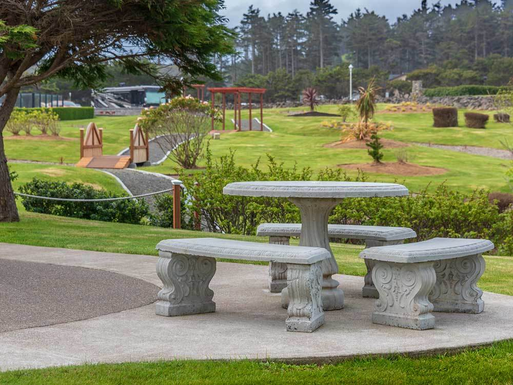 Pacific Shores Motorcoach Resort Newport Or Rv Parks