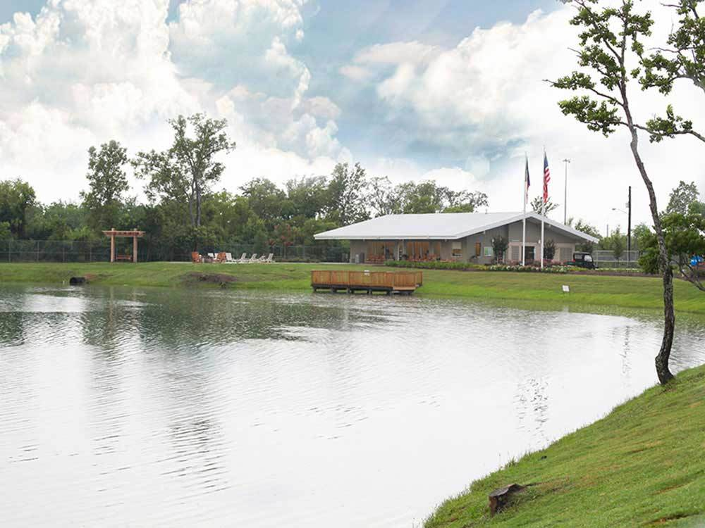 Lake view at SOUTHLAKE RV RESORT