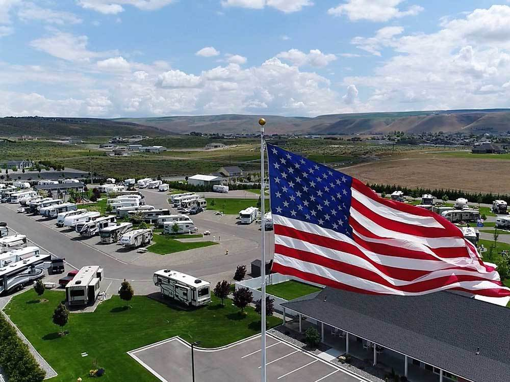 COLUMBIA SUN RV RESORT At KENNEWICK WA