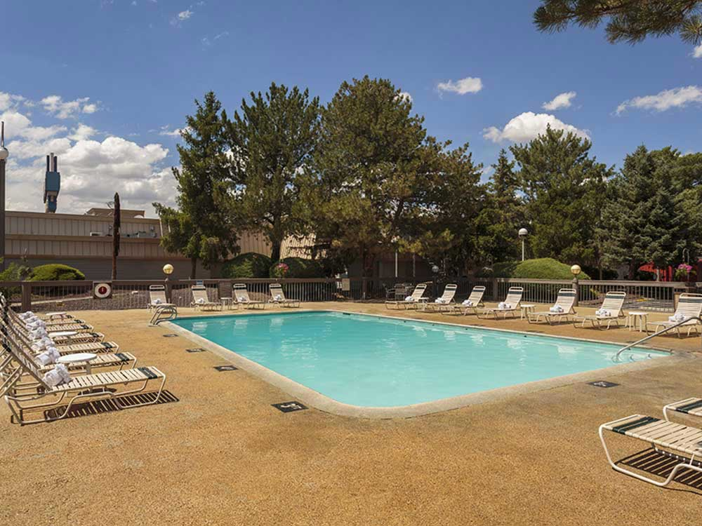 Swimming pool at GOLD COUNTRY RV PARK