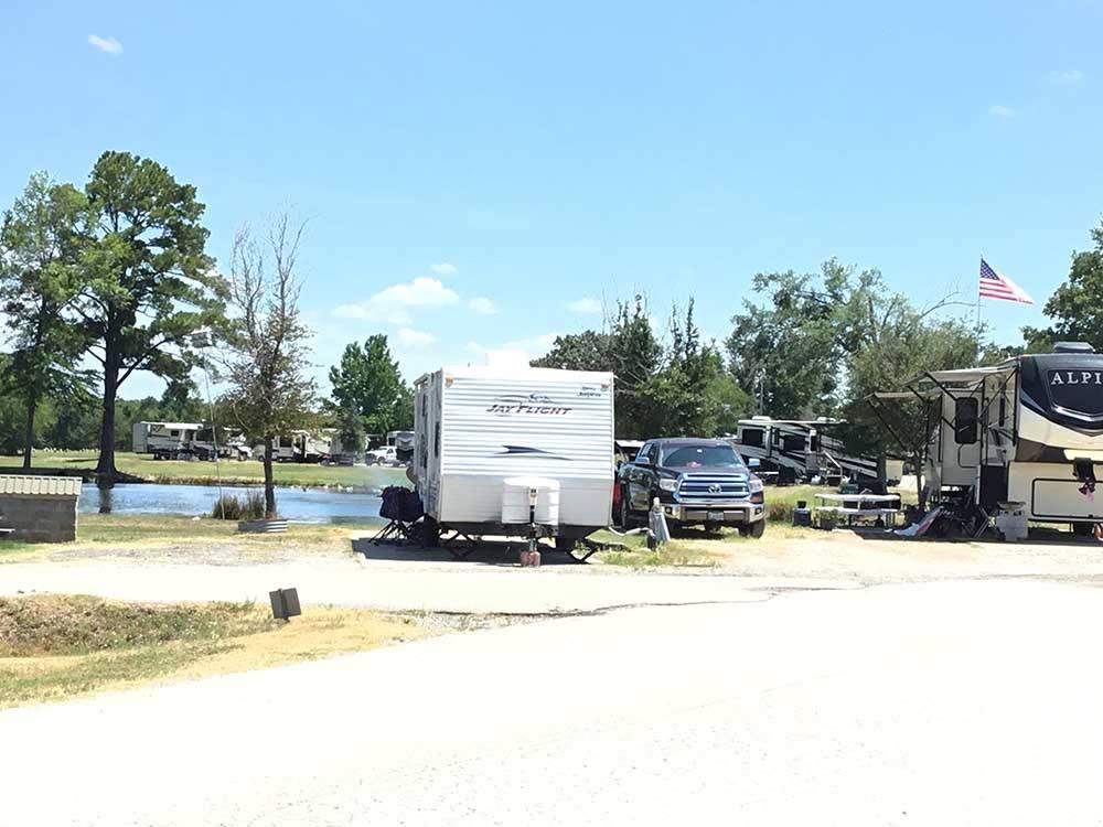 Tyler Oaks Rv Resort Tyler Tx Rv Parks And