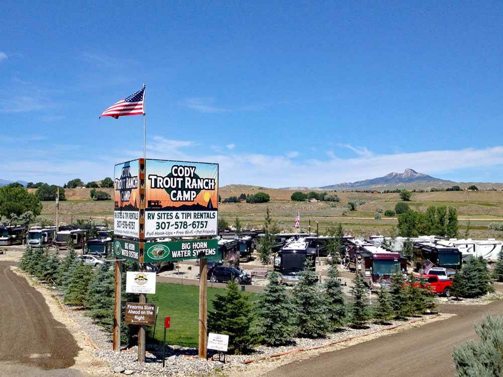 Cody Trout Ranch Camp Rv Park Cody Campgrounds Good
