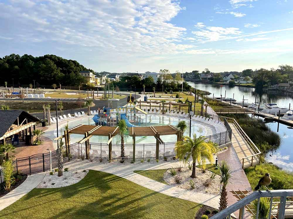 NMB RV Resort and Dry Dock Marina - Little River campgrounds   Good