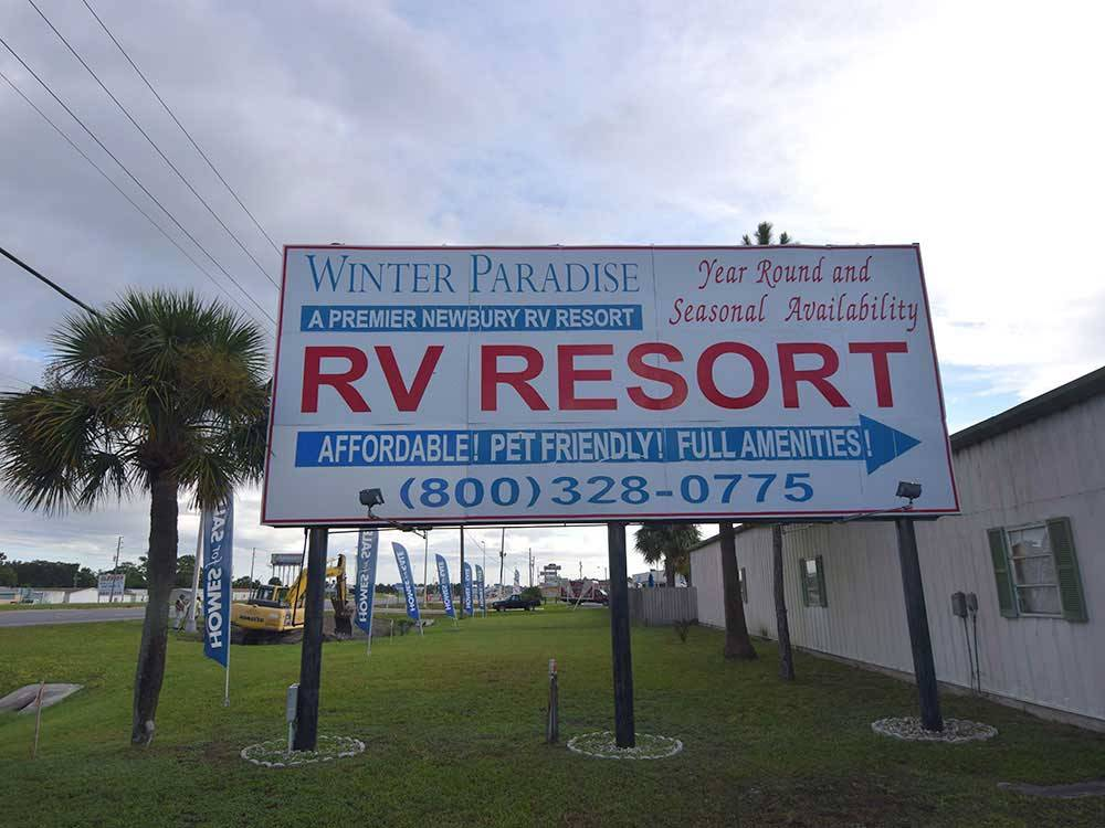 Winter Paradise Rv Resort Clearwater Campgrounds Good Sam Club