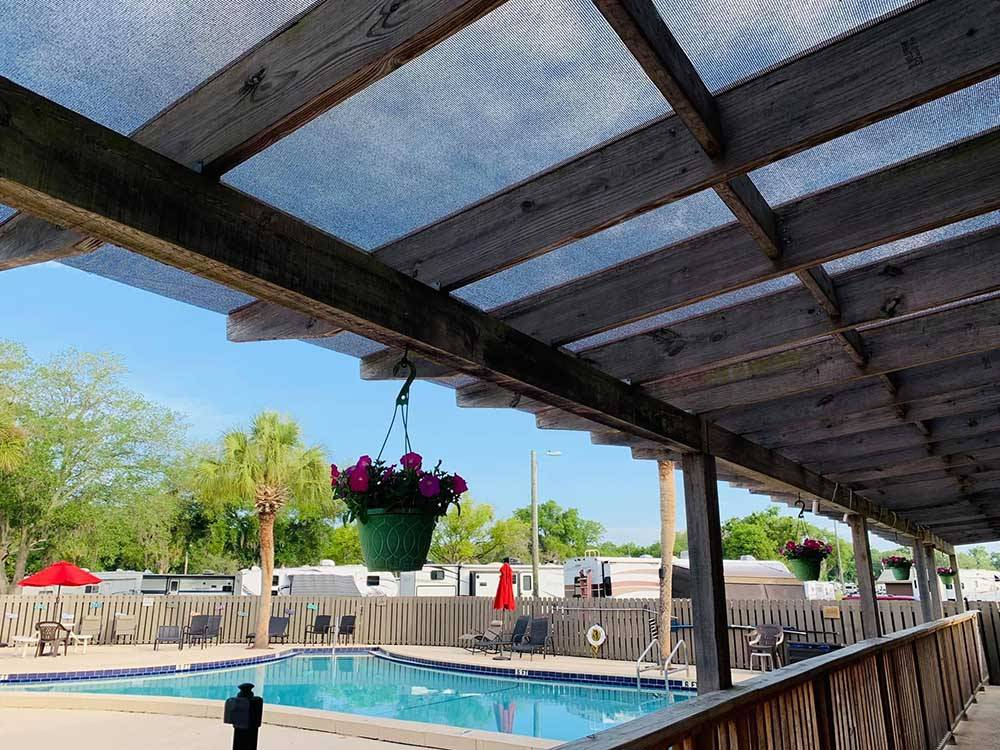 The sign on the front building at WILDWOOD RV VILLAGE