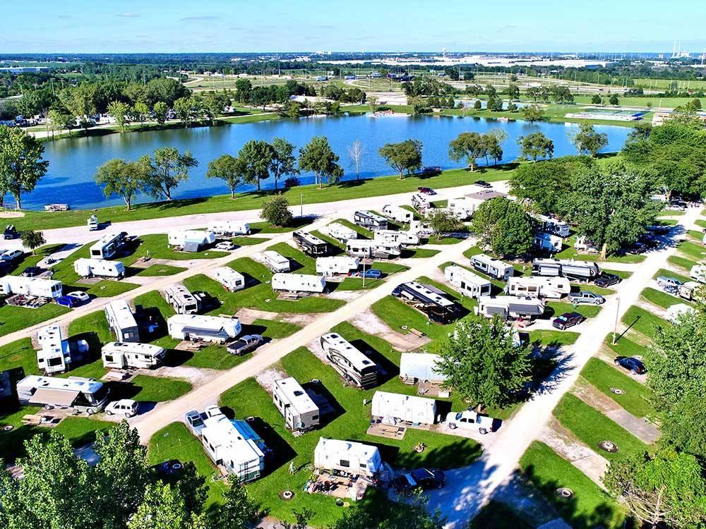 Leisure Lake Resort Joliet Campgrounds Good Sam Club