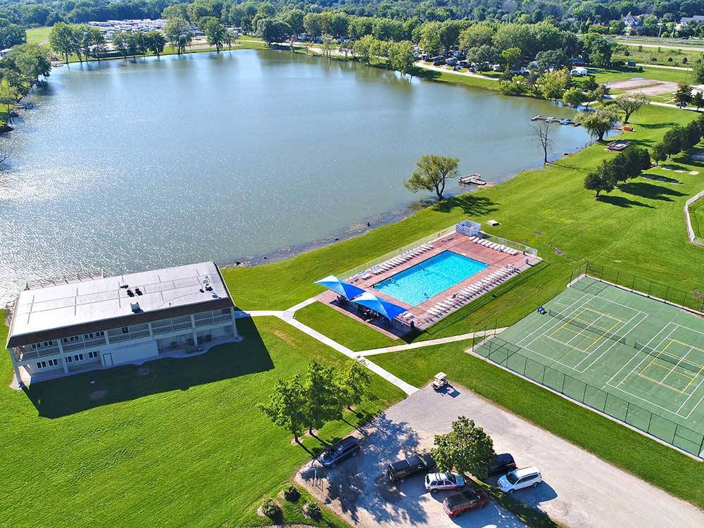 Leisure Lake Resort Joliet Campgrounds Good Sam Club