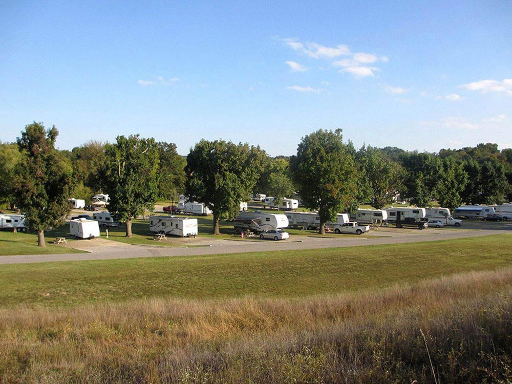 The Landing Point Rv Park Cape Girardeau Campgrounds