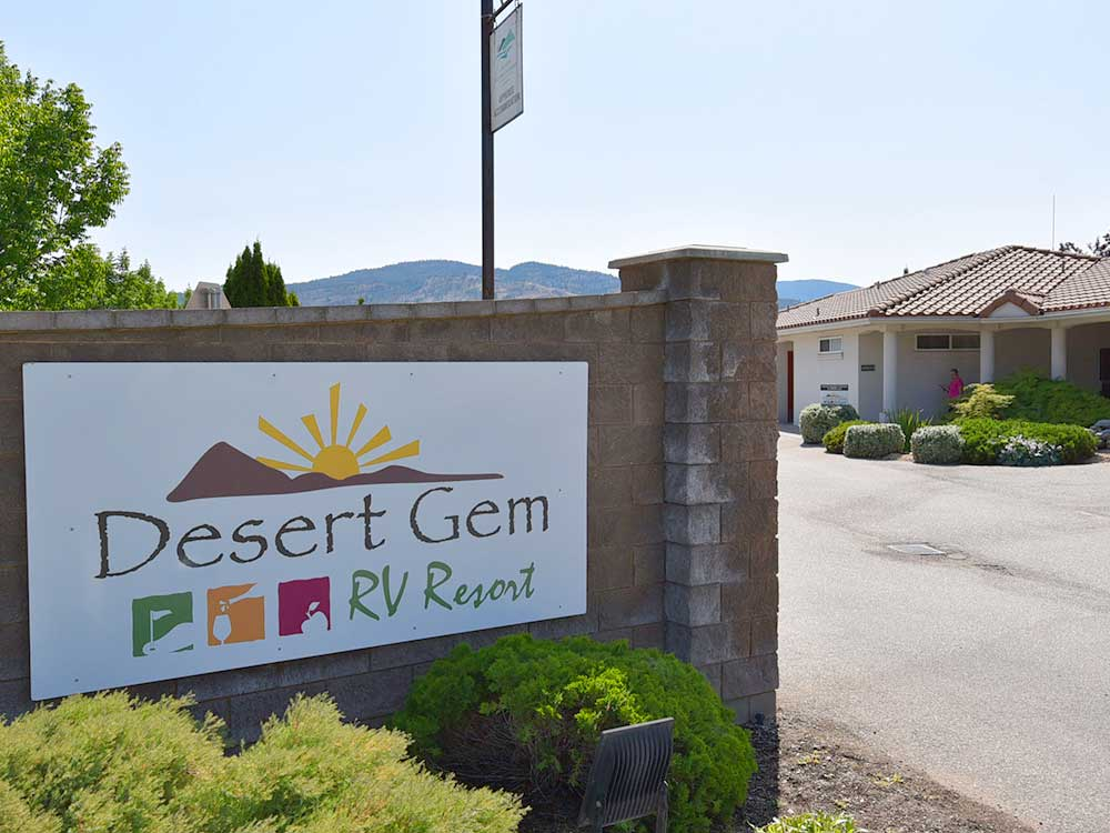 DESERT GEM RV RESORT at OLIVER BC