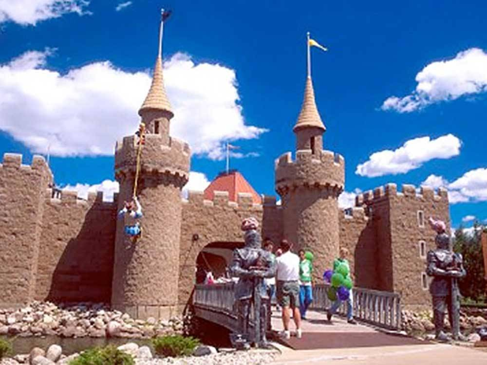 Castle at WYLIE PARK CAMPGROUND  STORYBOOK LAND