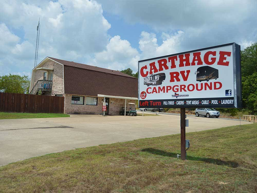 CARTHAGE RV CAMPGROUND at CARTHAGE TX