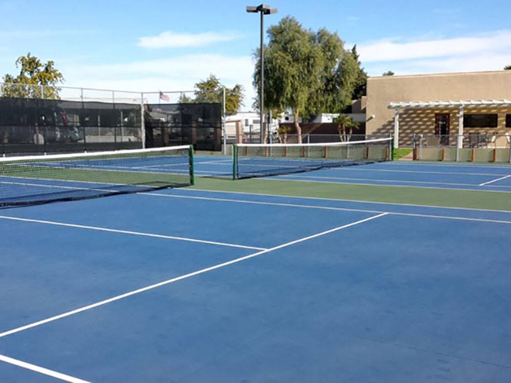 Del Pueblo Rv Park And Tennis Resort Yuma Campgrounds