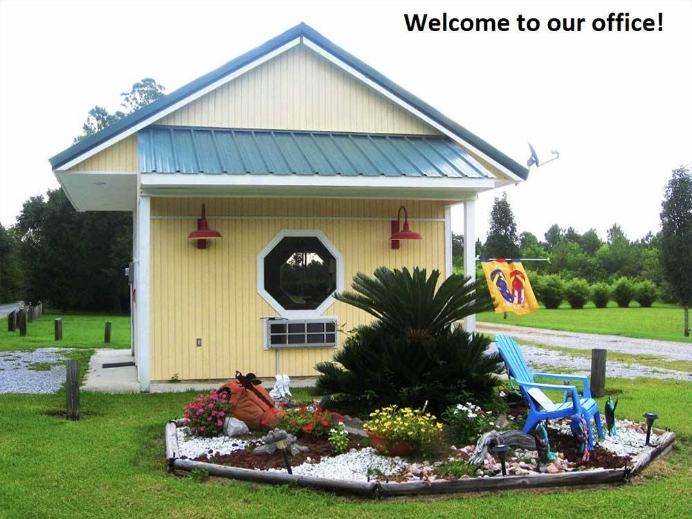 BAY HIDE AWAY RV PARK  CAMPGROUND at BAY ST LOUIS MS