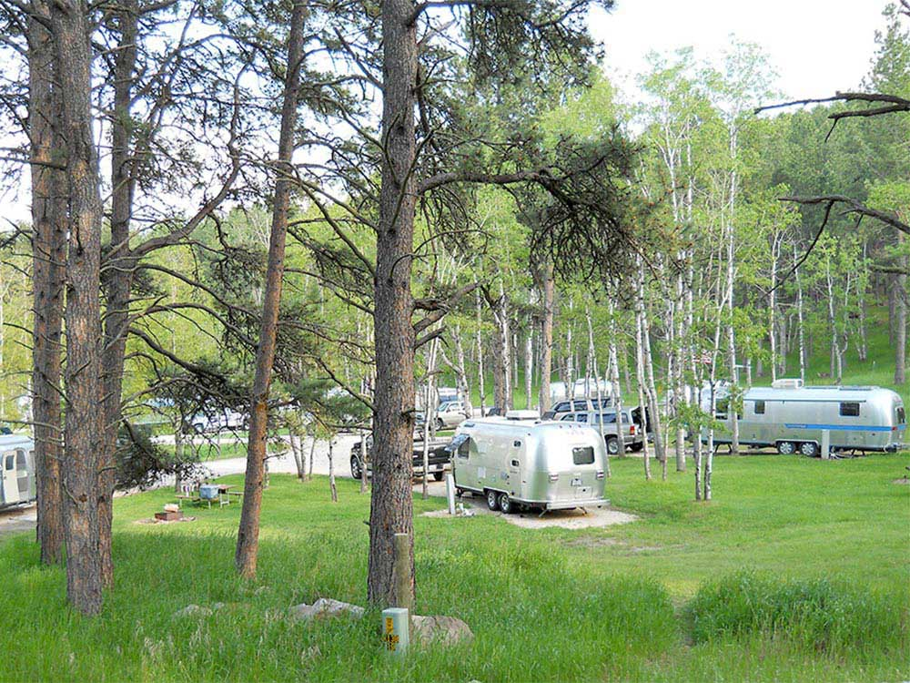 CUSTERS GULCH RV PARK  CAMPGROUND at CUSTER SD