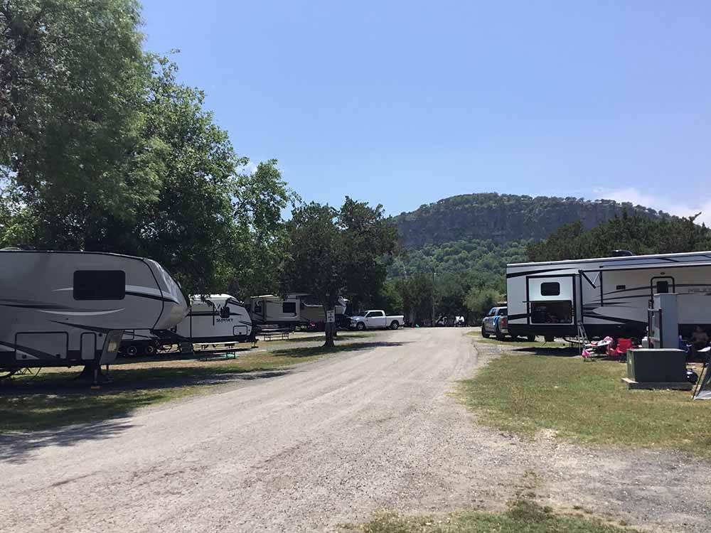 Parkview Riverside Rv Park Concan Campgrounds Good Sam