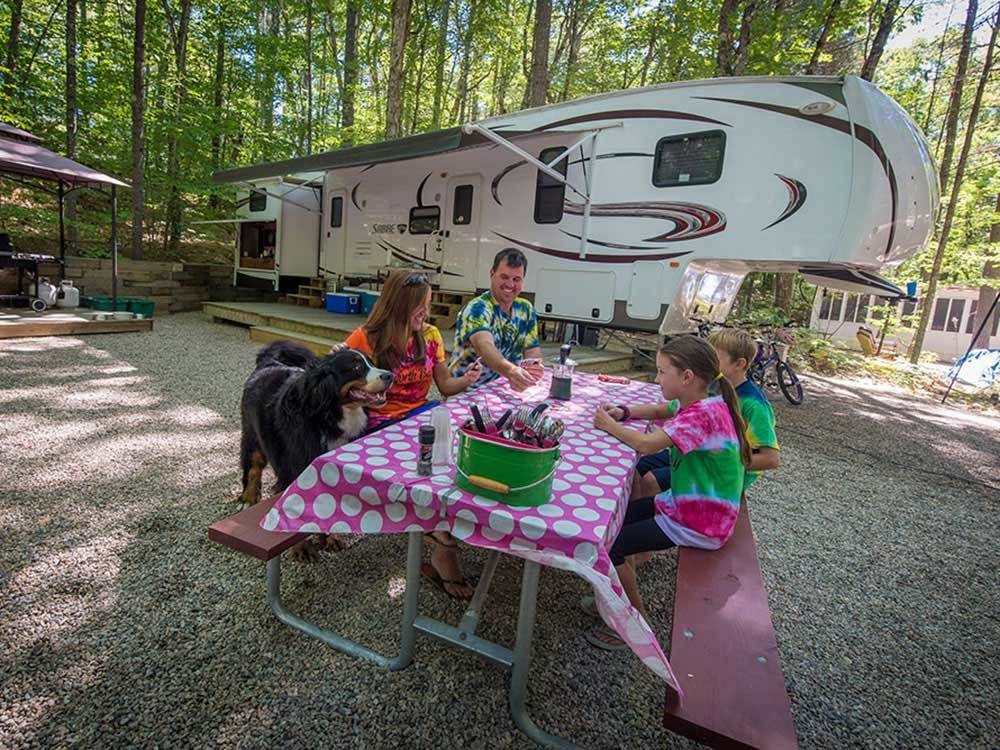 Danforth Bay Camping Rv Resort Freedom Campgrounds