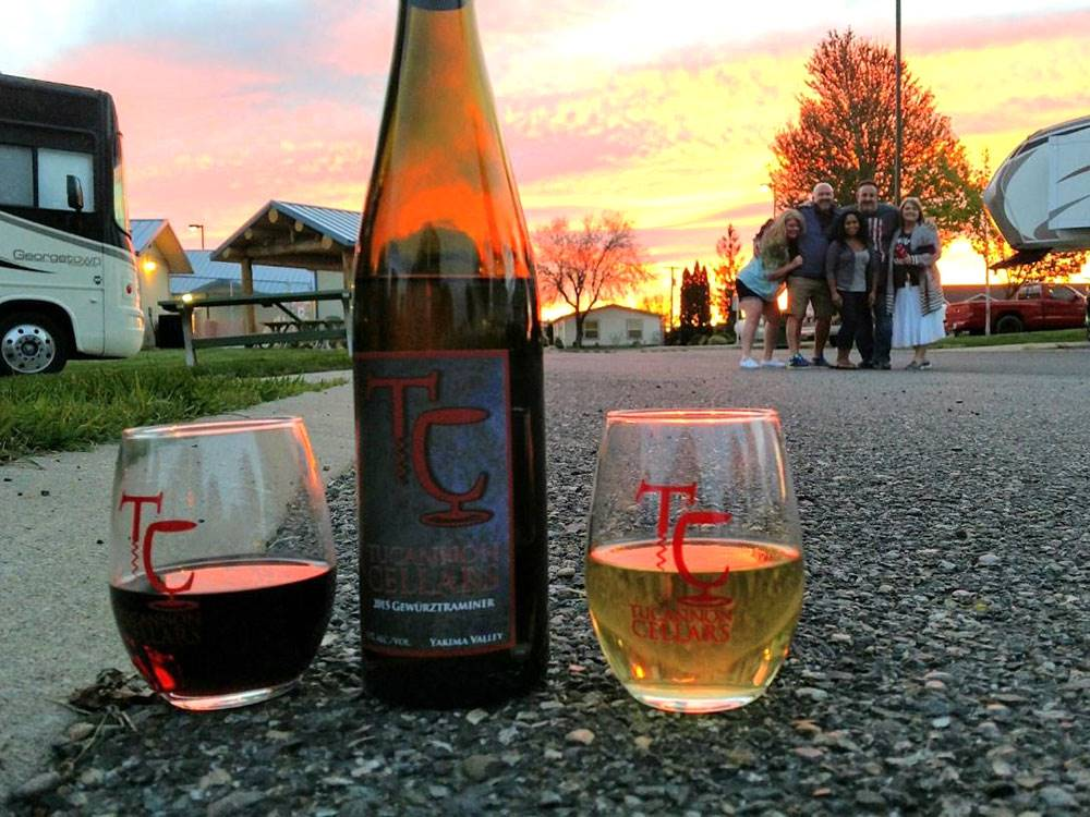 WINE COUNTRY RV PARK At PROSSER WA