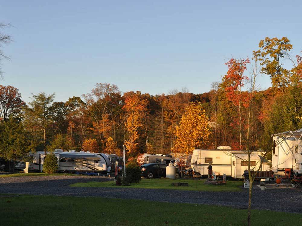 Twin Grove Rv Resort Amp Cottages Pine Grove Pa Rv