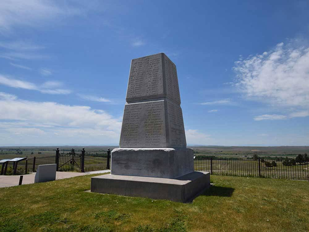 Monument at 7TH RANCH RV CAMP