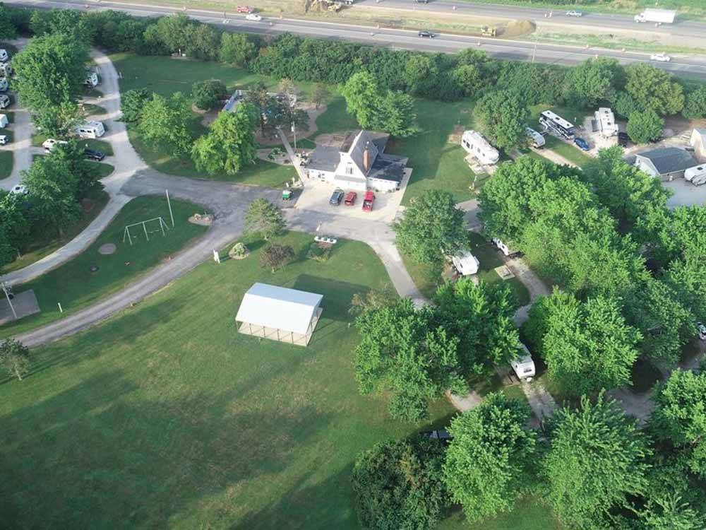 KAMP KOMFORT RV PARK  CAMPGROUND at CARLOCK IL