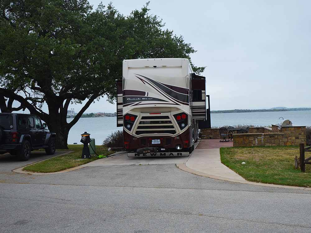 Sunset Point On Lake Lbj Marble Falls Campgrounds Good