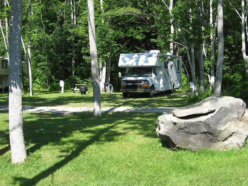 LINWOOD HARBOUR CAMPGROUND at LINWOOD NS